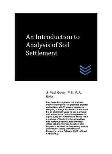 An Introduction to Analysis of Soil Settlement