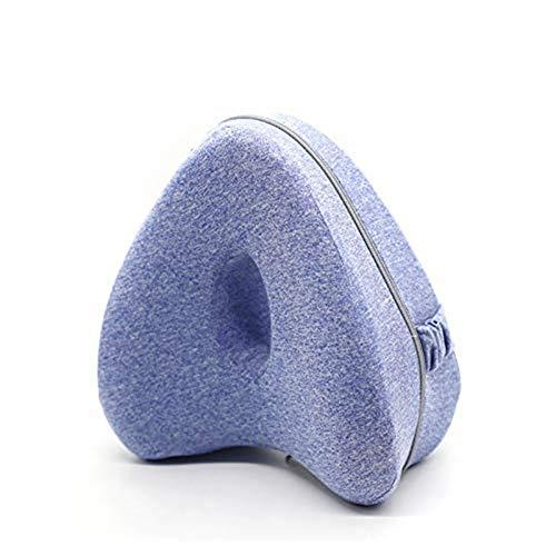 YOMOZEM Leg Pillow ergonomisches Seitenschläferkissen Schlaufe Memory Orthopädisches Kissen Knie-Kissen optimaler Liegekomfort waschbarer Bezug Kissen für Seitenschläfer Schlafkissen Druckentlastend