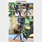 Tripod Mount Adapter for Gopro, ULANZI Quick Release Tripod Base Mount 1/4 Screw + Universal Action Cam Mount Accessory… 8 ULANZI GP-4 Quick Release Tripod Mount Base for Gopro Heo 8 7 6 5 Black/Gopro Max/DJI Osmo Action/insta 360 1/4 Thread Tripod Mount Adapter------Compatible with universal 1/4 screw tripod monopod battery handle grip extension pole stick Universal Action Camera Mount------Compatible with action cam tripod Gopro Shorty