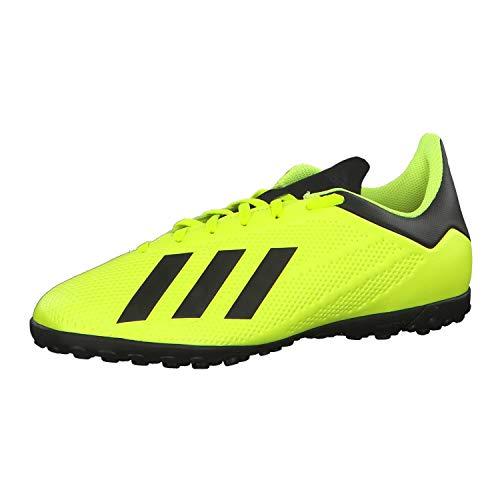 adidas X Tango 18.4 TF, Zapatillas de Fútbol Hombre, Amarillo (Syello/Cblack/Ftwwht Syello/Cblack/Ftwwht), 41 1/3 EU
