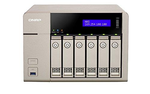 QNAP TVS-663-8G 18TB (6 x 3TB HGST NAS HDD) - NAS & storage servers