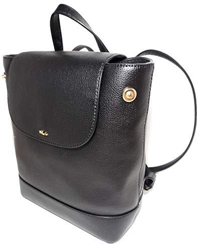 Lauren Ralph Lauren 100% Cow Leather Small Backpack Black