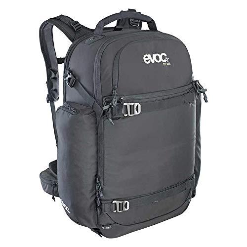 Evoc CP 35L Outdoor Sac à dos professionnel pour appareil photo (rembourré, système de portage ergonomique, sangle pour patinage, ski, snowboard ou trépied) Noir