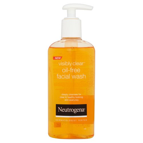 NEUTROGENA Visibly Clear Facial Face Wash, 200ml