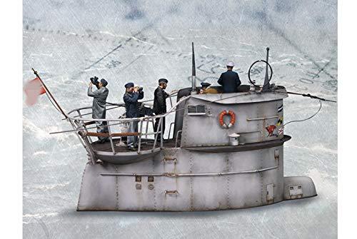 XINGCHANG Recién llegados 1/35 Kits de Modelos de Busto de ResinaGrupo de membresía submarina (Sin Submarino) Sin ensamblar sin Pintar