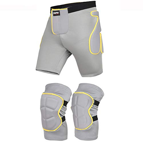 Y & Z Ski Knie Pads Luier Pants Suit, Skating Ass Pad Protector Skateboard Rolschaatsen Sport Beschermende Gear Veneer Double Board Drop Protection Pak