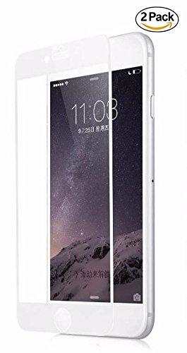 Copmob Protector Pantalla iPhone 6 Plus/iPhone 6S Plus,[2 Piezas] [Cobertura Completa][Borde Suave][Anti-Huella][Compatible...