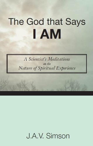 Book: The God that Says I Am by J.A.V. Simson