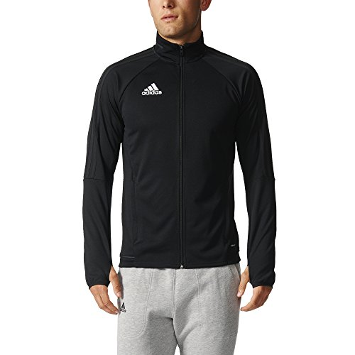 adidas Mens Tiro 17 Training Jacket Black/White S