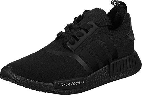 Adidas Herren NMD R1 Primeknit Sneaker, Schwarz (Negbas/Negbas/Negbas), 42 EU