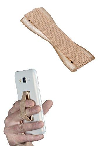 yayago Uni Fingerhalterung, Sling Grip Finger Halter Handgriff für Handy Smartphone & eBook-Reader Gold