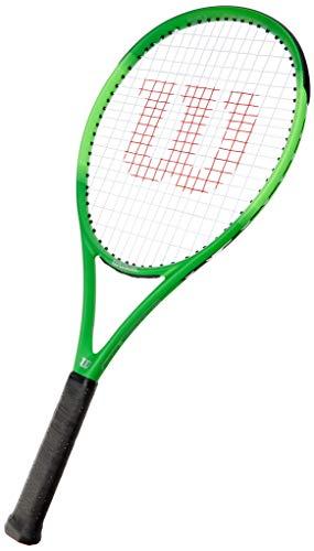 Wilson Blade Feel Pro 105, WR018810U3 Racchetta da Tennis, Tennisti Amatoriali o Junior, Fibra di Vetro e Alluminio, Nero/Lime, Manico 3