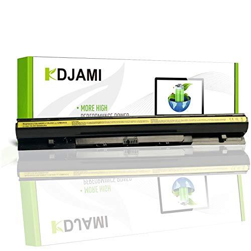 KDJAMI Batería de Repuesto L12L4E01 L12S4E01 L12L4A02 L12M4A02 L12M4E01 L12S4A02 para Lenovo G400s G410s G500s G510s G40 G50 Z40-70 Z50 Z710 (4400mAh)