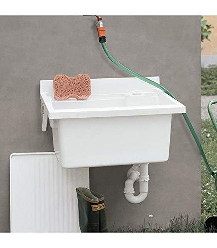 geromin ARREDAMENTI v45mb bañera lavabo a pared, 45x 50x 28cm