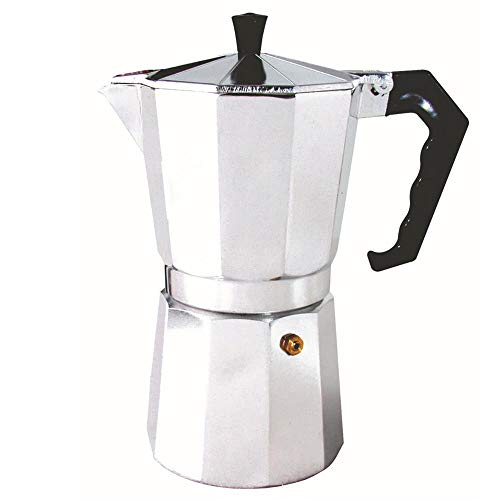 Why Choose 2-12 Cups Italian Type Octagonal Household Aluminum Espresso Percolator Maker Coffee Heat...