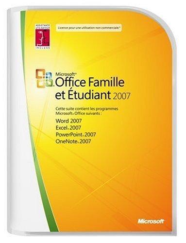 Office Famille et Etudiant 2007 - Equipez jusqu'à 3 PC