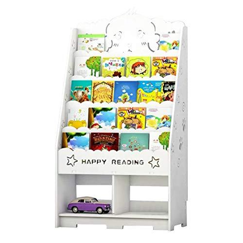 Scaffale per giocattoli per bambini, Libreria per bambini, Scaffale per libreria, Scaffale per libri a 5 ripiani, per asilo nido, Asilo nido - 103,5 x 60 x 32 cm
