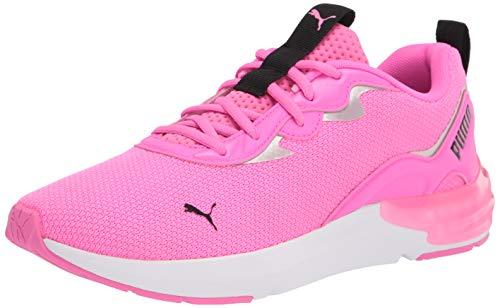 PUMA womens Cell Initiate Cross Trainer, Luminous Pink-metallic Silver, 11 US