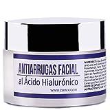 ZOWIX Crema antiarrugas piel grasa mujer y hombre. Matificante al Acido Hialuronico, Antibrillos....