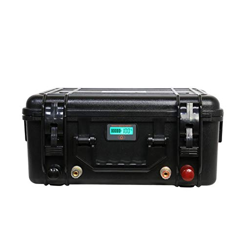 Yasco 12V 200Ah LiFePO4 Deep Cycle Battery, 3000+ Life Cycles Rechargeable Lithium Batteires Perfect for RV, Solar, Marine, Overland, Off-Grid, Golf cart, Camper Applications