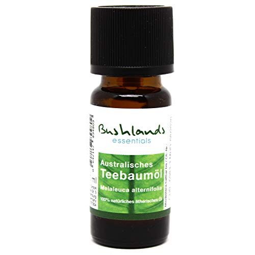 Bushlands essentials Teebaumöl (melaleuca alternifolia) 10ml - 100% naturreines, australisches ätherisches Öl