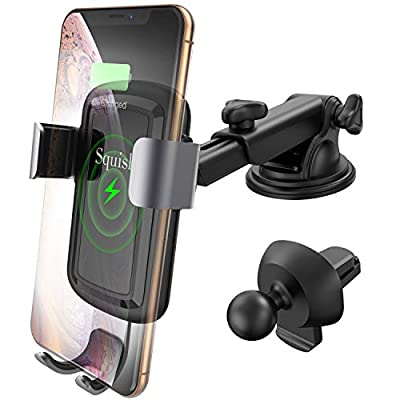 Squish Qi Wireless Car Charger Mount
