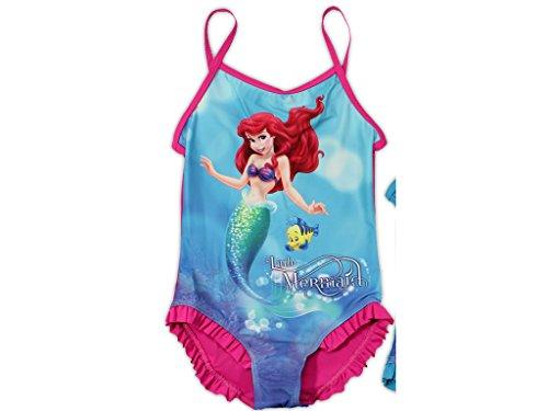 Disneys Arielle Badeanzug (92/98, pink)