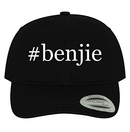 BH Cool Designs #benjie - Men's Soft & Comfortable Dad Baseball Hat Cap, Black, One Size