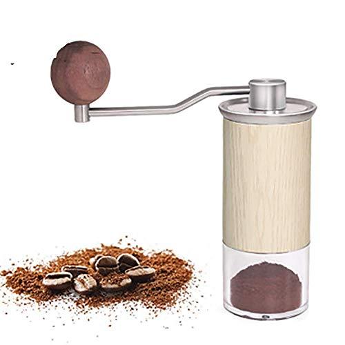 Wlylyhjy Haus Kaffeemühle, Manuelle Kaffeemühle Tragbare Italienisch Manuelle Schleifmaschine Tragbare Kurbelmühle Für Reisen Oder Camping-Reise
