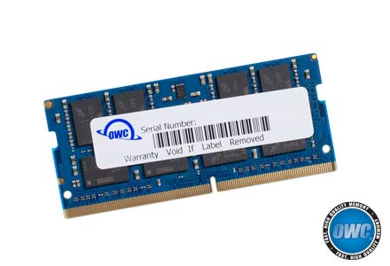 OWC 16.0GB 2666MHz DDR4 PC4-21300 SO-DIMM 260 Pin Memory Upgrade, (OWC2666DDR4S16G), for 2018 Mac Mini (macmini18,1), Early 2019 27 inch iMac (iMac19,1) and PC laptops
