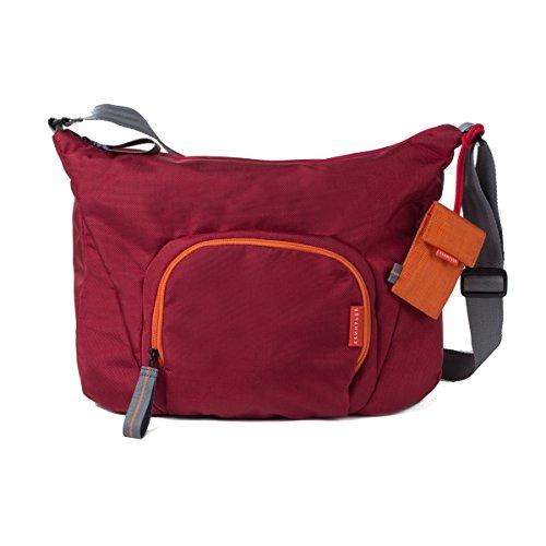 Crumpler Doozie Photo Sling DZPS-010 Kameratasche mit 9,7 Zoll Tabletfach inkl. Kamera Einsatztasche Rot / Orange