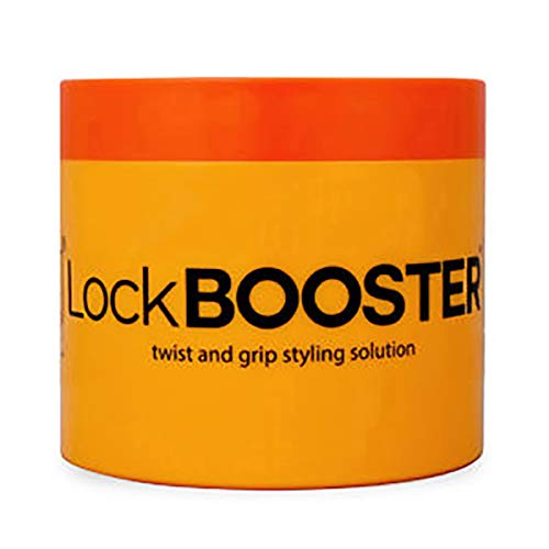 Style Factor Lock Booster Twist and Grip Styling Solution 10.1oz (ORANGE (MARULA))