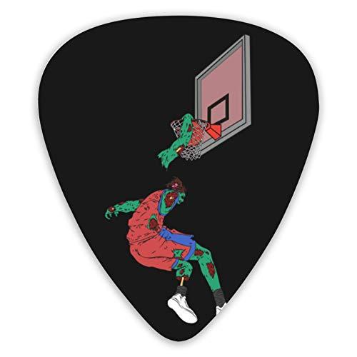 Divertidas púas de guitarra Zombie para jugador de baloncesto (paquete de 12), guitarras eléctricas acústicas, tres calidades de sonido únicas diferentes
