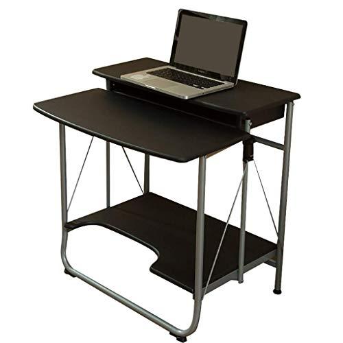 N/Z Mesas de Equipo Diario Escritorio Instalación de Escritorio de Oficina Escritorio de computadora Plegable Gratis Escritorio portátil para apartamento pequeño Blanco