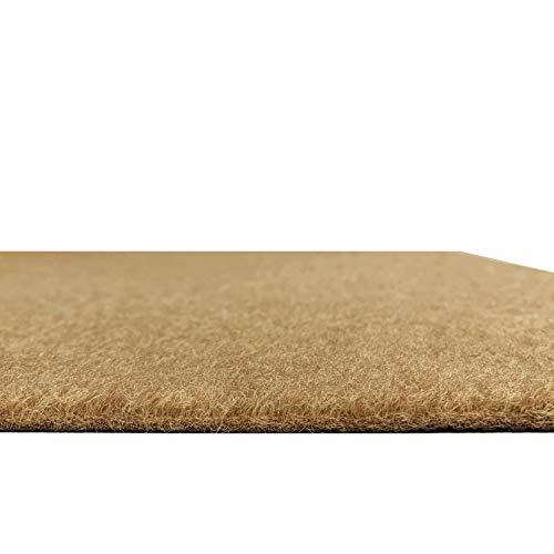 ZGR Runner Rug 4 ft x 9 ft Carpet Runners, Indoor/Outdoor Hallway Kitchen Entryway Bedroom Area Rugs with Natural Non-Slip Rubber Backing, Garage mat, Sand, Custom