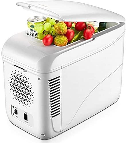 Nevera Portátil,Nevera Termoeléctrica Nevera pequeña, refrigerador de coches 9L, nevera portátil pequeño congelador, mudo, refrigerador de coches pequeño refrigerador, adecuado for automóvil, al aire