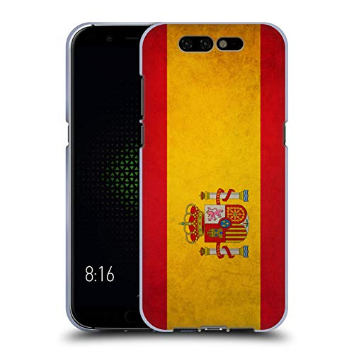 Head Case Designs Español De España Banderas Vintage Carcasa de Gel de Silicona Compatible con Xiaomi Black Shark