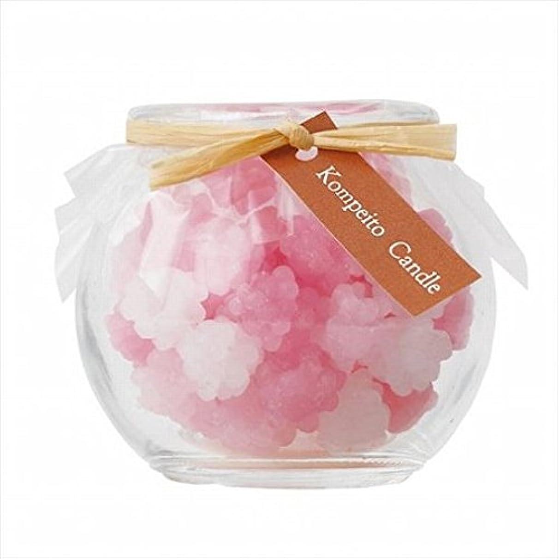 顔料すき打撃sweets candle(スイーツキャンドル) こんぺいとう 「 ピンク 」 キャンドル 65x65x58mm (A6500000PK)