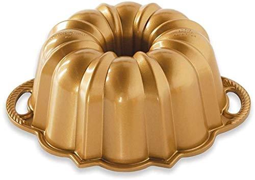 Nordic Ware Aniversario Bundt 6 tazas, oro
