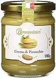 Crema de pistacho, el 40% de los pistachos de Sicilia, ideal para el desayuno, pero sobre todo para cosas dulces -190g