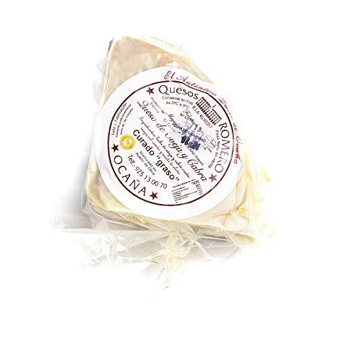 Queso De Oveja Y Cabra Romero Ocaña Madurado En Aceite De Oliva, 1/4 650g Aprox
