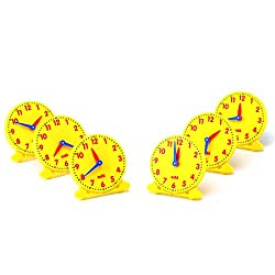 Learning Advantage CTU25815 Student Clock (Pack of 6)