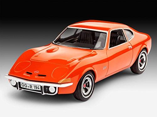 Revell Modellbausatz Auto 1:32 - Opel GT im Maßstab 1:32, Level 3, originalgetreue Nachbildung mit vielen Details, 07680