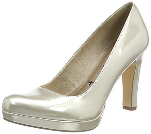 Tamaris 22426, Zapatos Tacón Mujer, Dorado Light