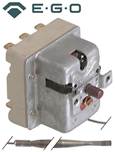 EGO 55.32563.010 Sicherheitsthermostat für Fritteuse Bartscher Apexa, Roller-Grill RF12DSP, RF12SP, RF8DSP, RF8SP 3-polig 340°C
