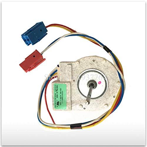 WUYANZI Nuevo para el Motor de Ventilador de refrigerador Panasonic para refrigerador congelador FDQT26BS3 12V DC