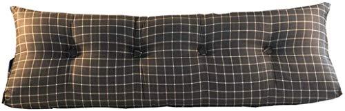ZXL leeskussen, comfortabel, wigvormig kussen, driehoekig, voor bank, pallet, bank, tuindecoratie, 12 kleuren optioneel (kleur: 3, maat: 180 x 45 x 20 cm)