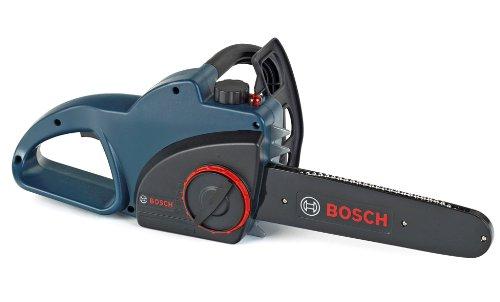Theo Klein 8250 - Bosch Kettensäge batteriebetrieben, profiline blau, Spielzeug