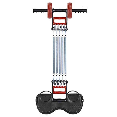 YADLCR Sit Up Trainingsgerät AB Rollfeder Bodybuilding Expander Brust Expander Hantel 6-in-1 Sport Core Home Multifunktionales Bauchmuskeltraining Fitnessgeräte