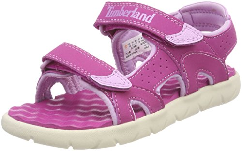 Timberland Unisex Kid's Perkins Row 2-Strap (Youth) Open Toe Sandals Child